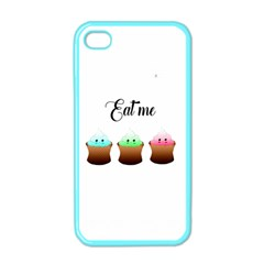 Eat Me Cupcakes Apple Iphone 4 Case (color) by Brittlevirginclothing