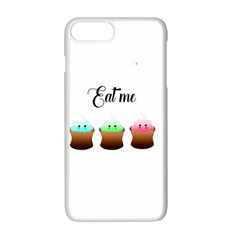 Eat Me Cupcakes Apple Iphone 7 Plus White Seamless Case by Brittlevirginclothing