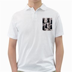 Elegant Cats Golf Shirts by Valentinaart