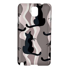 Elegant Cats Samsung Galaxy Note 3 N9005 Hardshell Case by Valentinaart