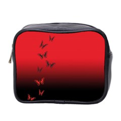 Lepidopteran Mini Toiletries Bag 2 Side