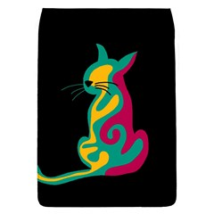 Colorful Abstract Cat  Flap Covers (l)  by Valentinaart