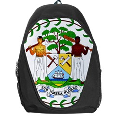 Coat Of Arms Of Belize Backpack Bag by abbeyz71