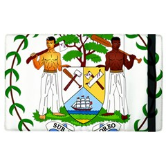 Coat Of Arms Of Belize Apple Ipad 3/4 Flip Case by abbeyz71
