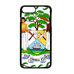 Coat Of Arms Of Belize Apple Iphone 7 Plus Seamless Case (black) by abbeyz71