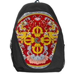 National Emblem Of Bhutan Backpack Bag by abbeyz71