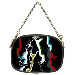Street Cats Chain Purses (two Sides)