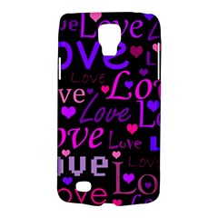 Love Pattern 2 Galaxy S4 Active by Valentinaart