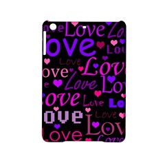Love Pattern 2 Ipad Mini 2 Hardshell Cases by Valentinaart