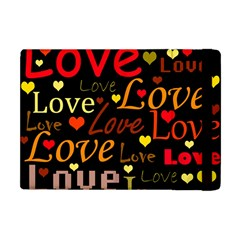 Love Pattern 3 Apple Ipad Mini Flip Case by Valentinaart
