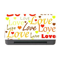 Valentine s Day Pattern Memory Card Reader With Cf