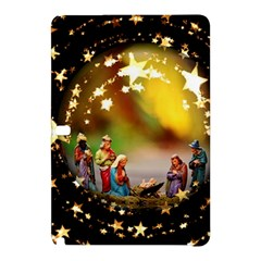 Christmas Crib Virgin Mary Joseph Jesus Christ Three Kings Baby Infant Jesus 4000 Samsung Galaxy Tab Pro 10 1 Hardshell Case by yoursparklingshop
