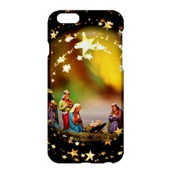 Christmas Crib Virgin Mary Joseph Jesus Christ Three Kings Baby Infant Jesus 4000 Apple Iphone 6 Plus/6s Plus Hardshell Case by yoursparklingshop