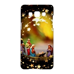 Christmas Crib Virgin Mary Joseph Jesus Christ Three Kings Baby Infant Jesus 4000 Samsung Galaxy A5 Hardshell Case  by yoursparklingshop