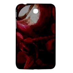 Dark Red Candlelight Candles Samsung Galaxy Tab 3 (7 ) P3200 Hardshell Case  by yoursparklingshop