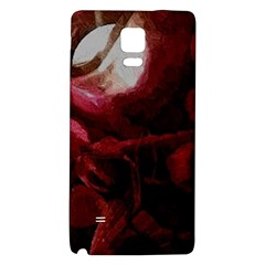 Dark Red Candlelight Candles Galaxy Note 4 Back Case