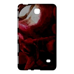 Dark Red Candlelight Candles Samsung Galaxy Tab 4 (7 ) Hardshell Case  by yoursparklingshop