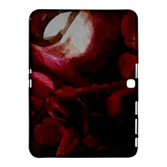 Dark Red Candlelight Candles Samsung Galaxy Tab 4 (10 1 ) Hardshell Case  by yoursparklingshop