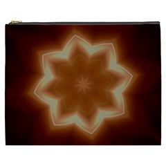 Christmas Flower Star Light Kaleidoscopic Design Cosmetic Bag (xxxl)  by yoursparklingshop