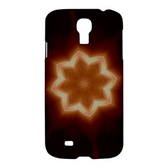 Christmas Flower Star Light Kaleidoscopic Design Samsung Galaxy S4 I9500/i9505 Hardshell Case by yoursparklingshop