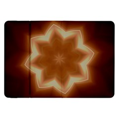 Christmas Flower Star Light Kaleidoscopic Design Samsung Galaxy Tab 8 9  P7300 Flip Case by yoursparklingshop