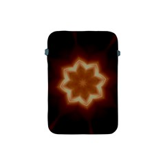 Christmas Flower Star Light Kaleidoscopic Design Apple Ipad Mini Protective Soft Cases by yoursparklingshop