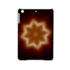Christmas Flower Star Light Kaleidoscopic Design Ipad Mini 2 Hardshell Cases by yoursparklingshop