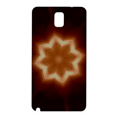 Christmas Flower Star Light Kaleidoscopic Design Samsung Galaxy Note 3 N9005 Hardshell Back Case by yoursparklingshop