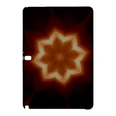 Christmas Flower Star Light Kaleidoscopic Design Samsung Galaxy Tab Pro 10 1 Hardshell Case by yoursparklingshop