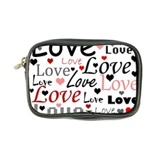 Love Pattern   Red Coin Purse by Valentinaart