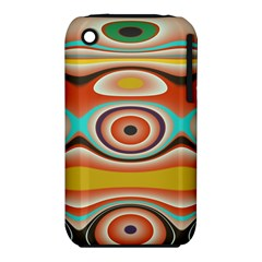Oval Circle Patterns Iphone 3s/3gs by digitaldivadesigns