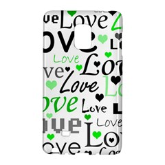 Green  Valentine s Day Pattern Galaxy Note Edge