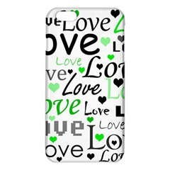 Green  Valentine s Day Pattern Iphone 6 Plus/6s Plus Tpu Case by Valentinaart