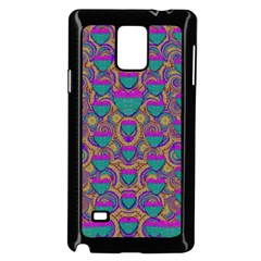 Merry Love In Heart  Time Samsung Galaxy Note 4 Case (black) by pepitasart