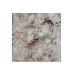 Down Comforter Feathers Goose Duck Feather Photography Satin Bandana Scarf
