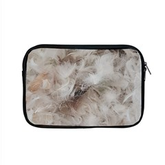 Down Comforter Feathers Goose Duck Feather Photography Apple Macbook Pro 15  Zipper Case by yoursparklingshop