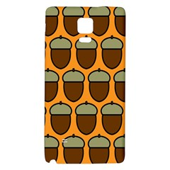 Acorn Orang Galaxy Note 4 Back Case by AnjaniArt