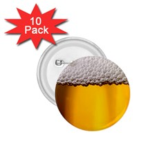 Beer Foam Yellow 1 75  Buttons (10 Pack) by AnjaniArt