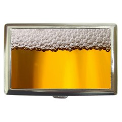 Beer Foam Yellow Cigarette Money Cases by AnjaniArt