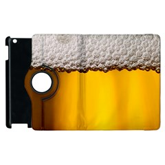 Beer Foam Yellow Apple Ipad 3/4 Flip 360 Case