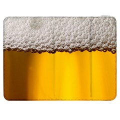 Beer Foam Yellow Samsung Galaxy Tab 7  P1000 Flip Case
