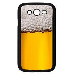 Beer Foam Yellow Samsung Galaxy Grand Duos I9082 Case (black)