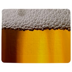 Beer Foam Yellow Jigsaw Puzzle Photo Stand (rectangular)