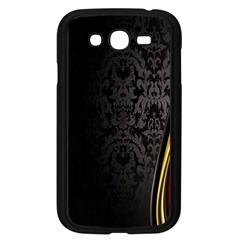 Black Red Yellow Samsung Galaxy Grand Duos I9082 Case (black)