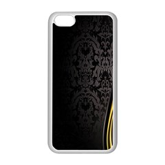 Black Red Yellow Apple Iphone 5c Seamless Case (white)