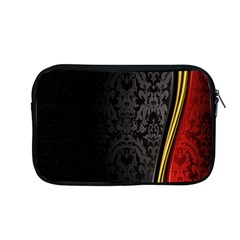 Black Red Yellow Apple Macbook Pro 13  Zipper Case