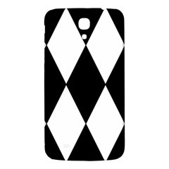 Chevron Black Copy Samsung Galaxy Mega I9200 Hardshell Back Case