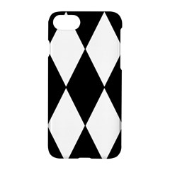 Chevron Black Copy Apple Iphone 7 Hardshell Case