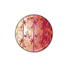 Bamboo Tree New Year Red Hat Clip Ball Marker (10 Pack) by AnjaniArt