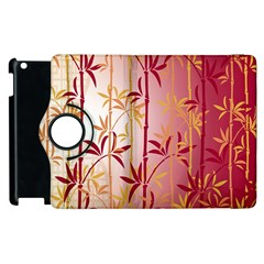 Bamboo Tree New Year Red Apple Ipad 3/4 Flip 360 Case